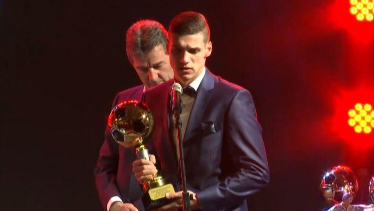 """Кирил Десподов е """"Най-прогресиращ млад играч"""""""