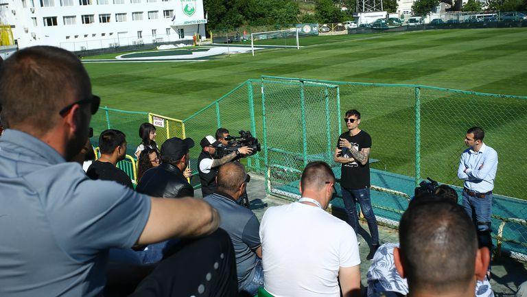 Бербатов се среща с отборите от Пиринския край