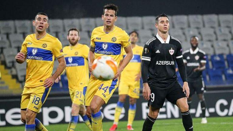 ФК Карабах - Макаби Тел-Авив 1:1