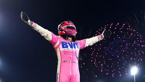 Серхио Перес със сензационна победа в ГП на Сахир