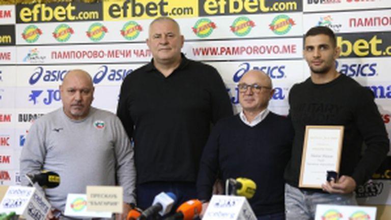"Атанас Герчев е треньор номер едно на месец ноември и Ивайло Иванов с приз ""Сребърен сокол"""