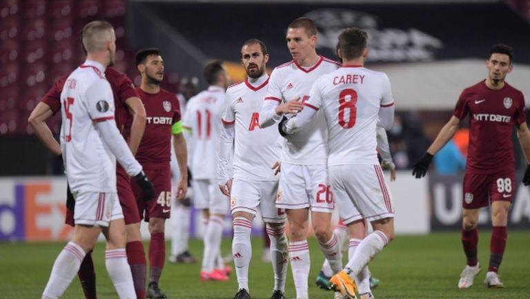 ЦСКА-София също влезе в топ 200 на тимовете на УЕФА