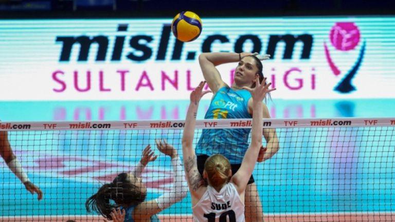 Христина Вучкова поведе ПТТ към осми успех в Турция