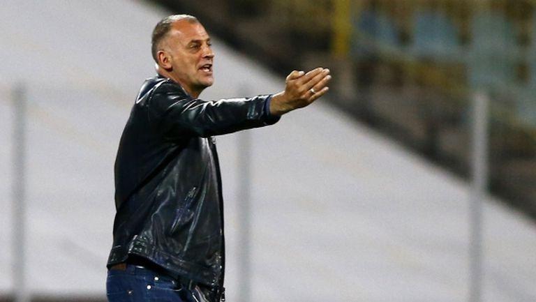 Тони Здравков: Славия е сериозен отбор, макар и да е последен в класирането