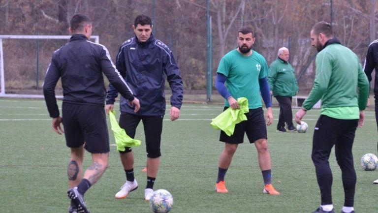 Макриев и Вихрен с цел влизане в елита на родния футбол
