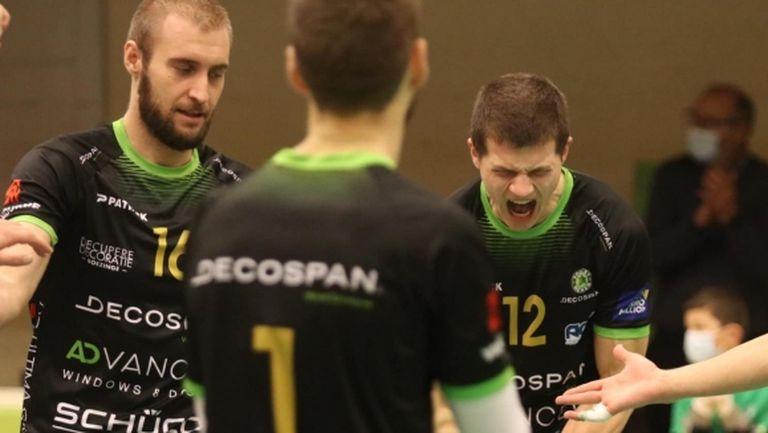 Трифон Лапков с 15 точки, Менен с победа №7 в Белгия (видео + снимки)