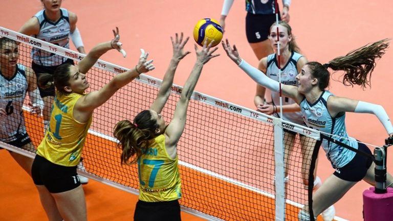 Христина Вучкова с 20 точки (9 блока), Емилия Димитрова с 23 точки за ПТТ (видео + снимки)