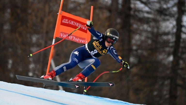 София Годжа спечели второто спускане във Вал д'Изер (видео)