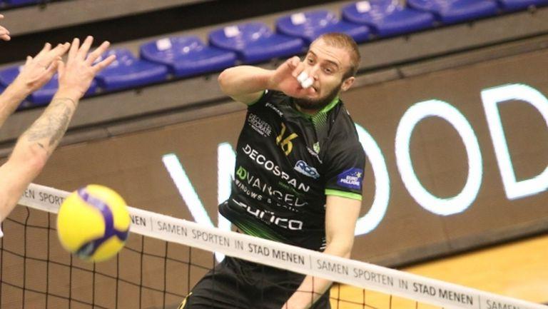 Трифон Лапков заби 24 точки и донесе победа №8 на Менен в Белгия (видео + снимки)