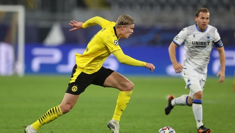 Ерлинг Холанд беше избран за футболист номер 1 на Норвегия