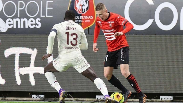 Рен продължава победния си ход в Лига 1