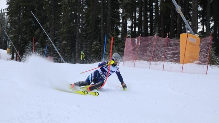 Камен Златков спечели първия слалом в Банско