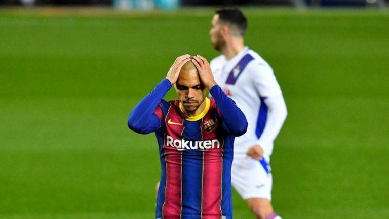 Барселона с нов горчив хап за края на ужасяващата си година (видео)