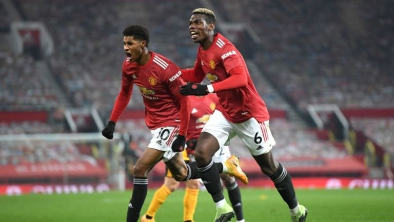 С голям късмет и гол в добавеното време Ман Юнайтед излезе на второ място (видео)