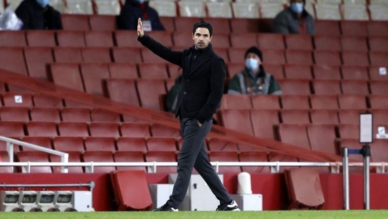 Артета ще прави чистка в Арсенал