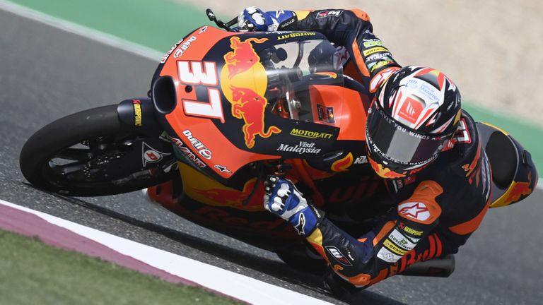 Дебютант тръгна от бокса и спечели ГП на Доха в клас Moto3