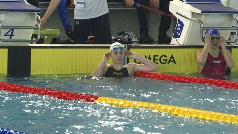Габриела Георгиева спечели спринта на 50 м гръб