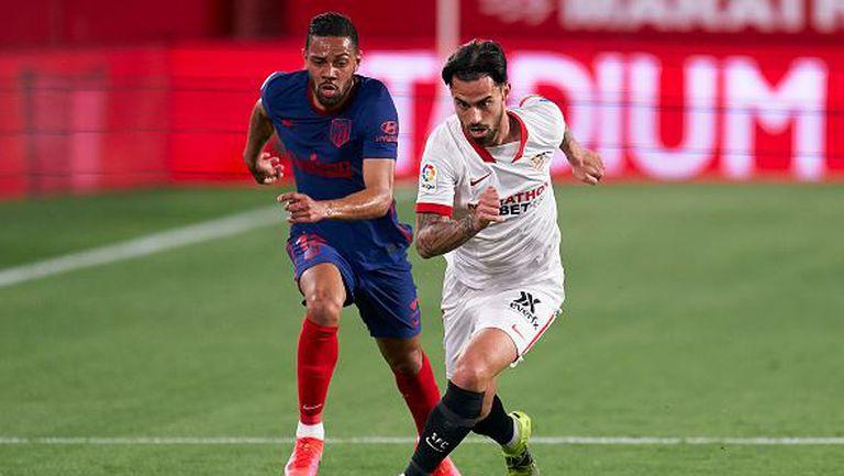 Севиля - Атлетико Мадрид 1:0