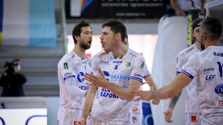 Сеганов и Чистерна с втора драматична загуба в плейофите за 5-о място (снимки)