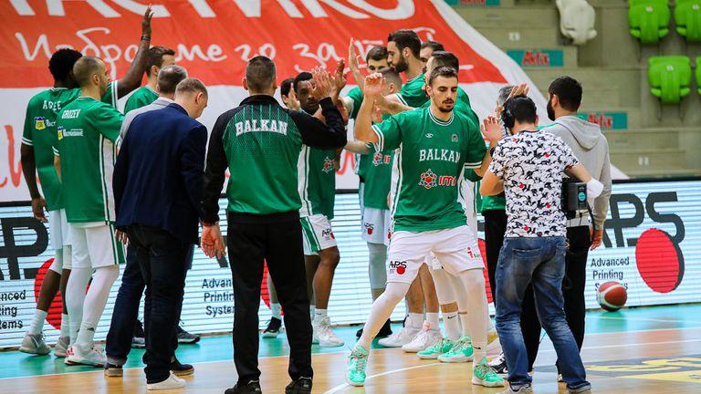 Феновете на Балкан надъхаха отбора преди първия мач с Левски Лукойл (видео)