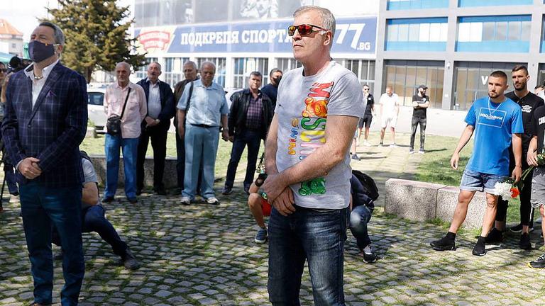 Наско отказа коментар за бъдещето на Левски