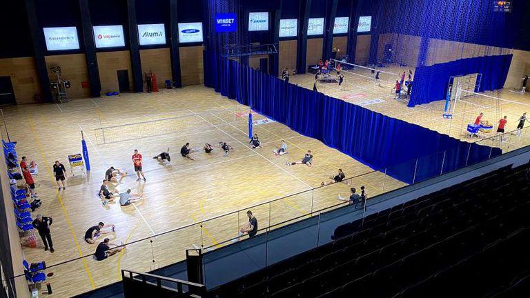 За първи път националните отбори за мъже и жени тренират заедно (снимки)