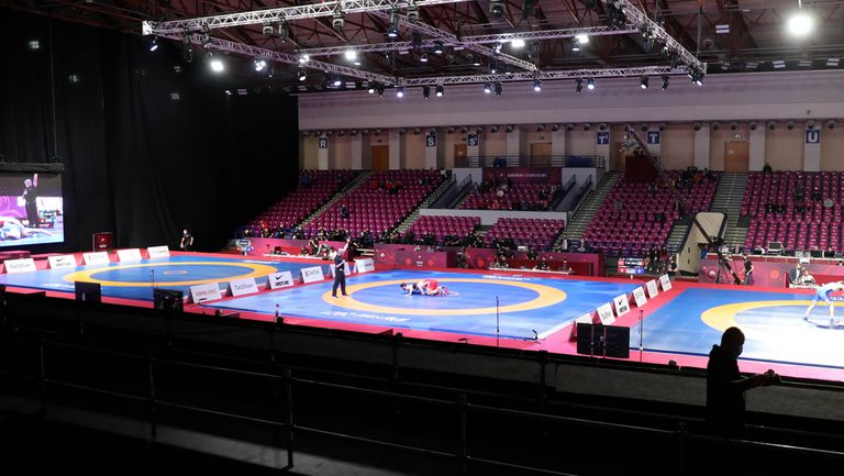"""Ясна е програмата за олимпийската квалификация по борба в """"Арена Армеец"""""""