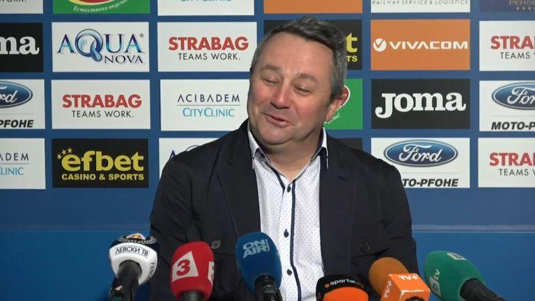 Славиша Стоянович определи играта на Левски като турбо фолк