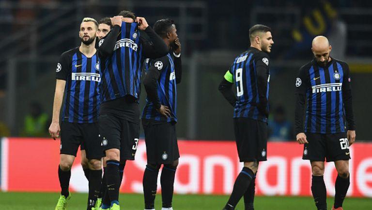 """Сълзи на """"Меаца""""! Интер излетя от Шампионската лига"""