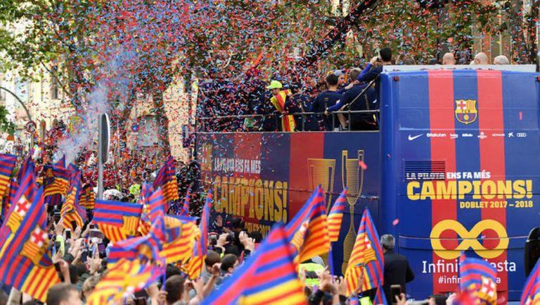Барселона изпраща поредната успешна година