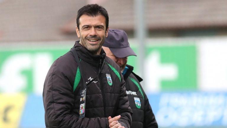 Росен Кирилов: Трудно играем срещу затворен отбор