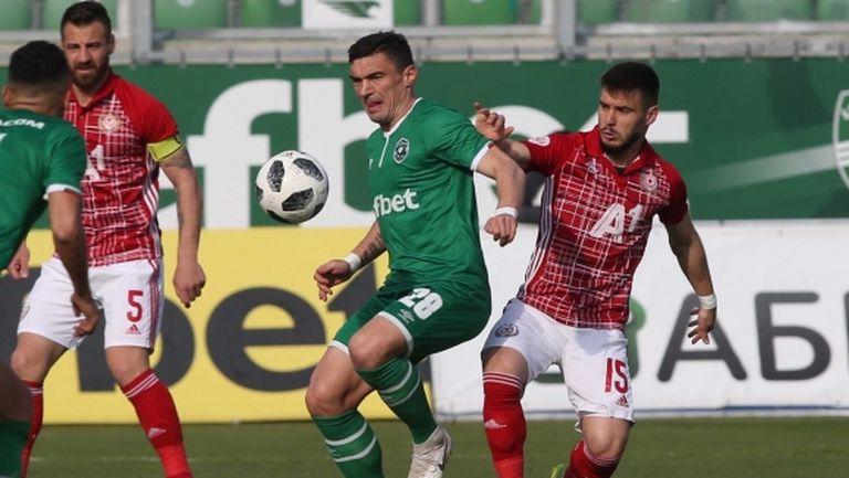 Вижте как наказаха играчи на ЦСКА-София, Лудогорец и Дунав за едно и също провинение