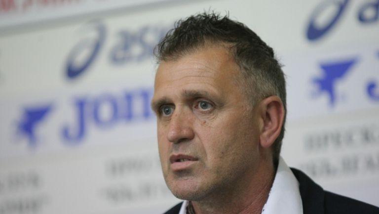 Акрапович: Големите мачове носят самочувствие, не ми харесва форматът на Първа лига