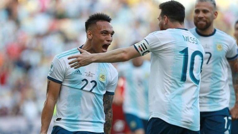 Аржентина набира скорост, предстои суперсблъсък с Бразилия