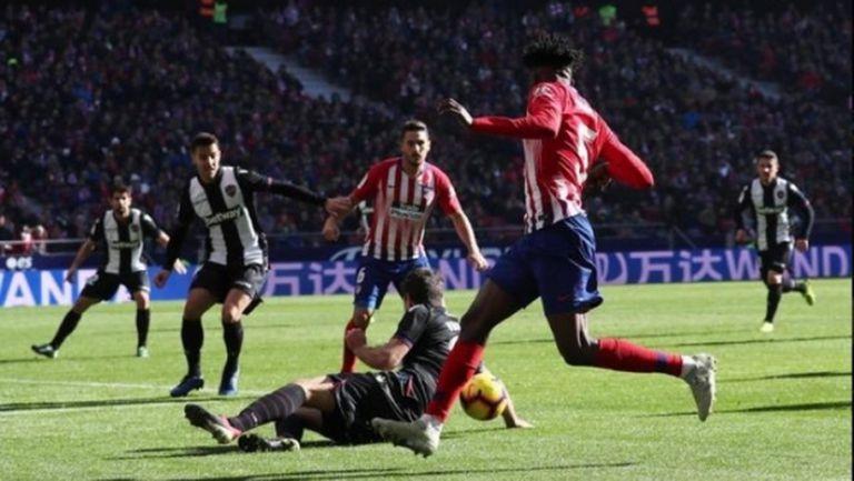 Не трябваше да има дузпа за Атлетико, категорични са в Испания