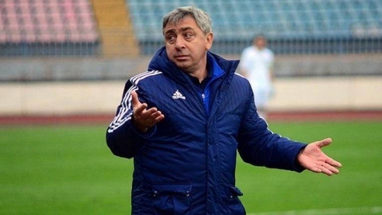 Новият треньор на Верея проведе първа тренировка