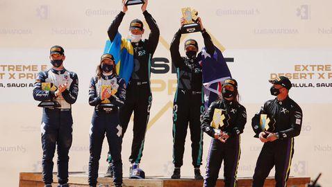 Отборът на Нико Розберг грабна първата победа в електрическия офроуд шампионат