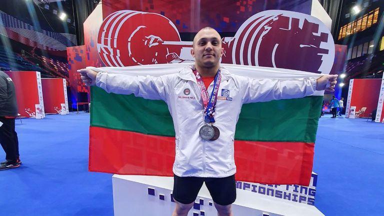 Дебютантът Валентин Генчев донесе пореден медал на България