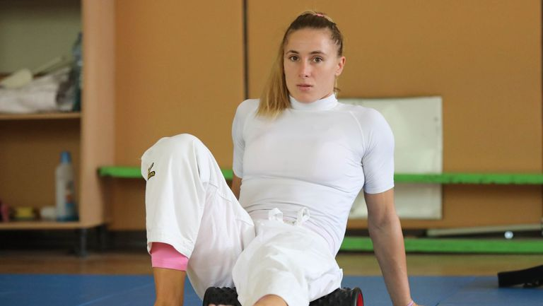 Страхотна победа прати Ивелина Илиева на четвъртфинал на Големия шлем в Казан