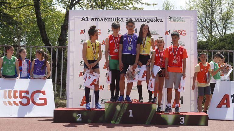 """Райчев и Димитрова с нови победи в """"А1 атлетика за младежи"""""""