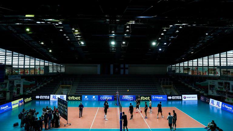 Открита тренировка национален отбор по волейбол