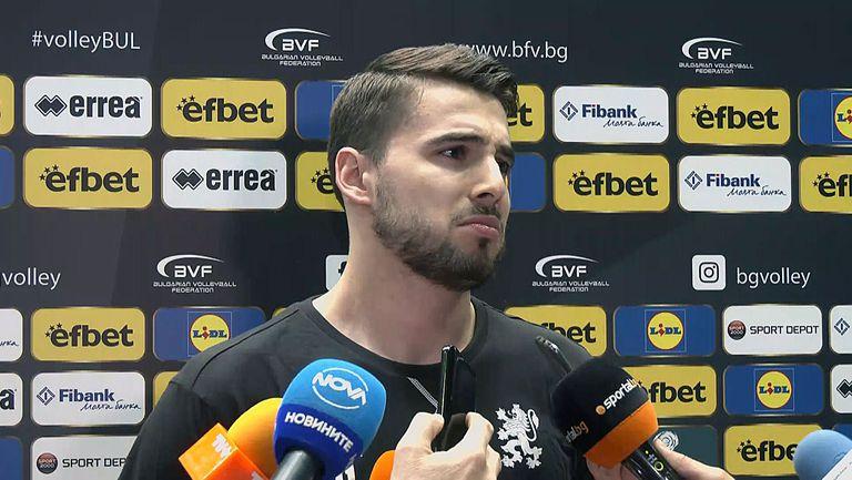 Мартин Атанасов: Играем за България и премиите не са най-важни, целта е медал (видео)