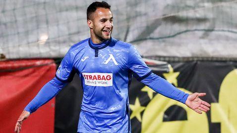 Боби Цонев се завърна с гол за Левски срещу Царско село след дълга контузия