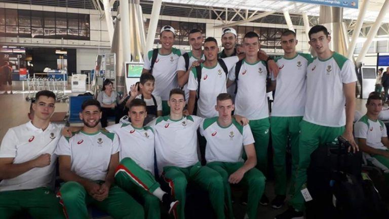 Съставът на България U19 за юношо за Младежкия олимпийски фестивал в Баку