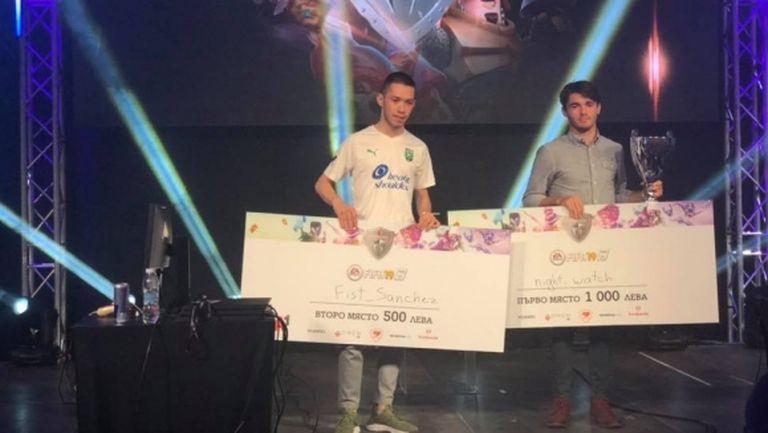 Иван Чуров взе реванш и вдигна шампионската титла на България по FIFA 19