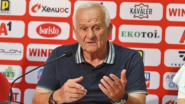 Люпко Петрович: Няма само да се защитаваме