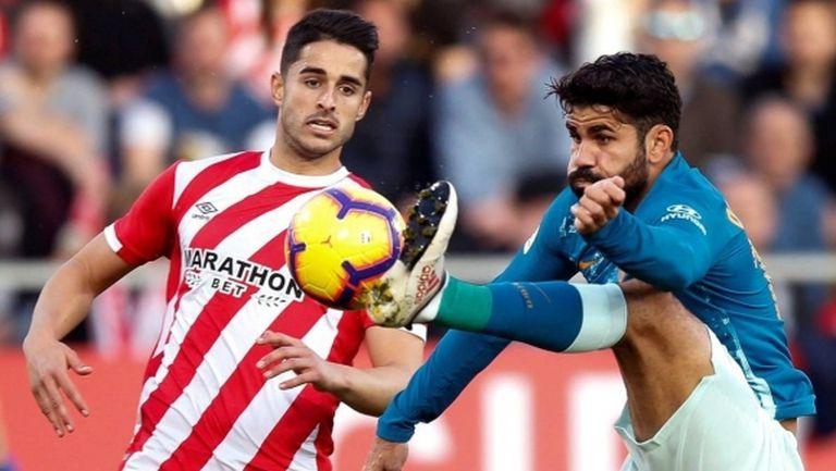 Атлетико пак изпусна точки далеч от Мадрид (видео)