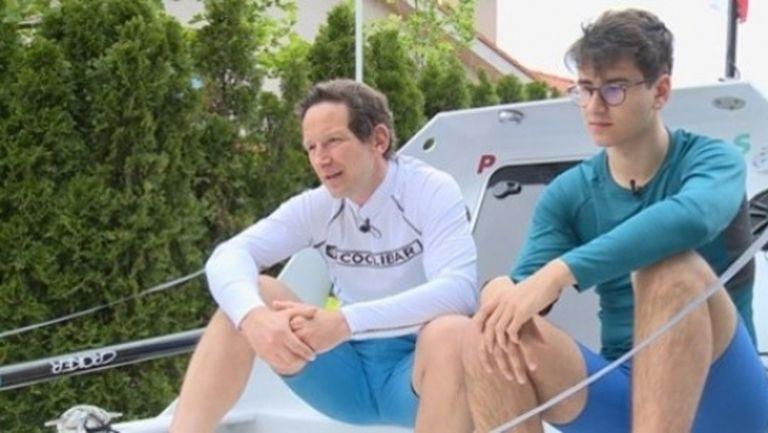 Стефан и Максим Иванови: Вече гребахме над 6000 км на ергометър