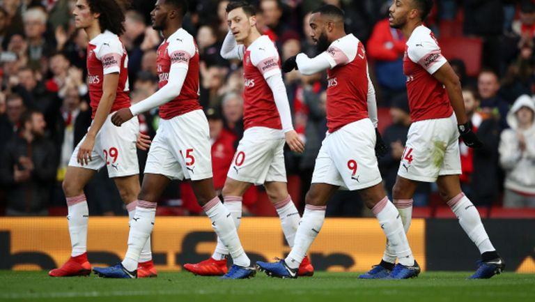 Арсенал направи това, което не успя в първите 17 кръга, и се върна към победите (видео)