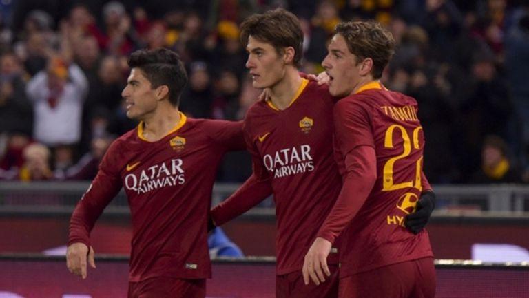 Рома се залепи за Милан, талант с красиво попадение